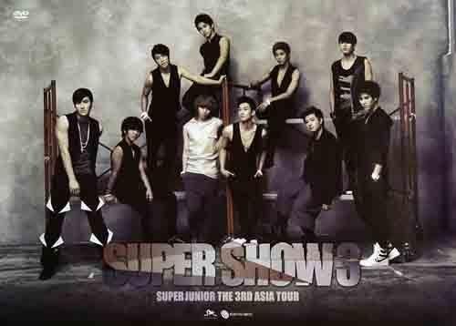 SUPER JUNIOR THE 3RD ASIA TOUR SUPER SHOW 3 雙DVD(購潮8)