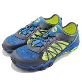 Merrell 涼拖鞋 Hydro Drift 運動鞋 越野 登山 藍 黃 休閒鞋 涼鞋 拖鞋 女鞋 大童鞋【PUMP306】 MY56506