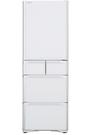 《日立 HITACHI》407公升 五門琉璃變頻冰箱 RSG420J-XW(琉璃白)