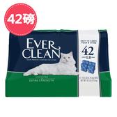 【EverClean】 藍鑽低敏結塊貓砂藍標袋裝-42磅