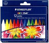 施德樓MS229NC12 快樂學園加寬型蠟筆十二色組盒