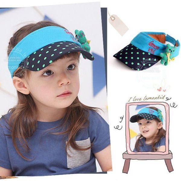 韓版《快樂熊寶貝》造型空頂帽~遮陽帽