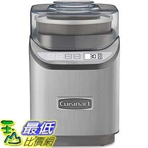 [104美國直購] Cuisinart ICE-70 Electronic Ice Cream Maker, Brushed Chrome 冰淇淋機