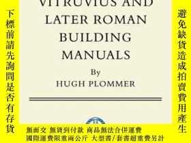 二手書博民逛書店Vitruvius罕見and Later Roman Build