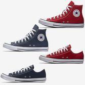 CONVERSE Chuck Taylor 男鞋 女鞋 休閒 帆布 高筒 / 低筒  紅 / 藍 綜合賣場 【運動世界】