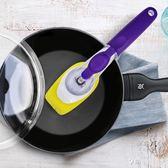 不黏鍋刷鍋洗鍋神器長柄刷子海綿木漿棉洗碗刷廚房家用不沾油 享購