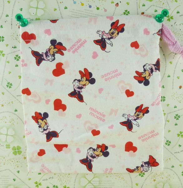 【震撼精品百貨】Micky Mouse_米奇/米妮 ~束口袋-粉