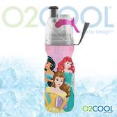 O2 COOL 鯨魚水壺12oz可噴霧 迪士尼版『公主princess 』登山|戶外|慢跑|路跑|運動|水壺 HMCM12