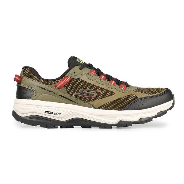 SKECHERS GO RUN TRAIL ALTITUDE 男款防潑水越野運動慢跑鞋 綠 220111OLBK
