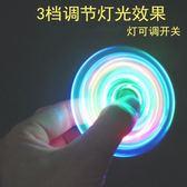 飛行器單行會款的指尖玩具陀螺空中吉祥手指減壓玩具回旋電鍍紅藍