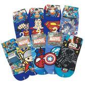 【KP】襪子 超人 機器戰士 復仇者聯盟 星際大戰 直版襪 中 卡通 15~22CM 正版授權 DTT100007614