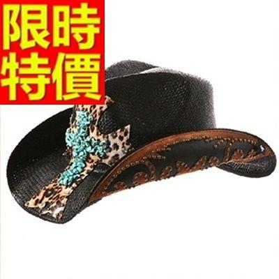 牛仔帽-大方高檔俐落紳士男帽子1色57j7[巴黎精品]