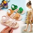 女童涼鞋 女童涼鞋2020夏季新款兒童小女孩軟底花朵時尚中大童公主寶寶童鞋 【快速出貨】