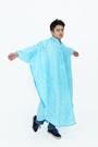 【東門城】雙龍牌 EY4326 星動EVA斗篷雨衣 藍 一件式