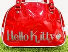 【震撼精品百貨】凱蒂貓_Hello Kitty~日本SANRIO三麗鷗 KITTY 防水袋/側背袋-紅#05263
