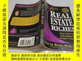 二手書博民逛書店Real罕見Estate Riches: How to become rich using your banker