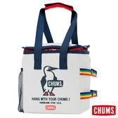 CHUMS 日本 保冷袋 保溫袋 野餐露營必備 白色 CH602147W001