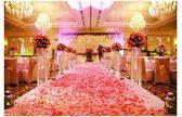 彩色花瓣1000片仿真花瓣婚慶用品 婚禮婚房布置裝飾婚慶用品 極客玩家