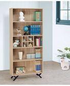 【新北大】✪ Q167-6北原橡2.7尺開放式書櫃-18購