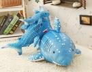 【60公分】海底世界 藍色大鯊魚 大白鯊 仿真玩偶 抱枕絨毛娃娃 生日禮物 聖誕節交換禮物