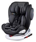 Osann Swift360 isofix 0-12歲360度旋轉汽座 -銀河灰 /汽車安全座椅【送 OS腳靠座椅保護墊】