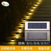 太陽能戶外庭院燈家用花園別墅裝飾路燈鄉村院子樓梯地燈圍墻壁燈·9號潮人館igo