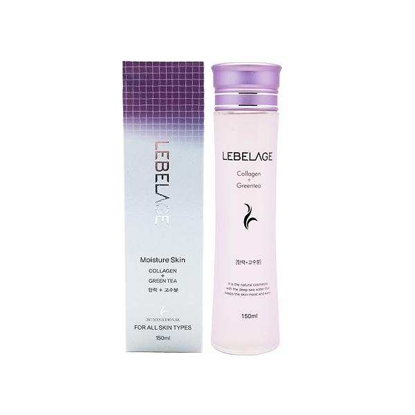 韓國 LEBELAGE 膠原蛋白+綠茶保濕化妝水(150ml)【小三美日】