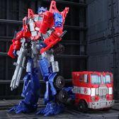變形玩具金剛5大黃蜂4兒童男孩合金版警車恐龍汽車機器人手辦模型  免運快速出貨
