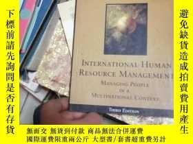 二手書博民逛書店international罕見human resource ma