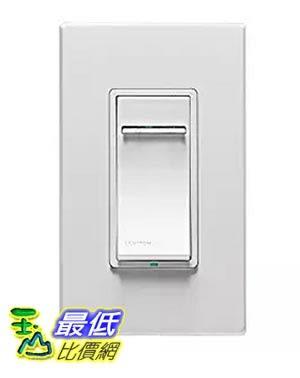 [美國直購] Leviton DZMX1-1BZ Decora Z-Wave Controls Scene Capable Universal Dimmer, White/Ivory/Light Almond