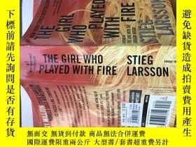 二手書博民逛書店The罕見girl who played with fireY2