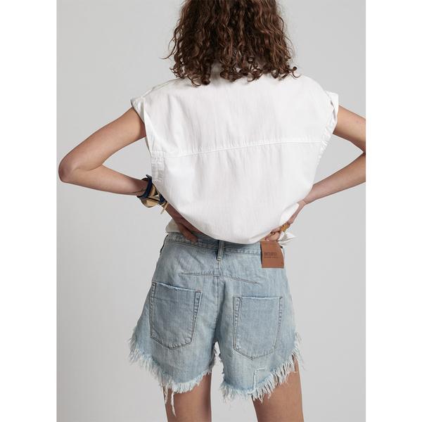 ONETEASPOON  LE WOLVES MID WAIST牛仔短褲