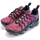 Nike 休閒鞋 Wmns Air VaporMax Plus 黑 紫 女鞋 漸層 氣墊 熱帶魚 魚骨鞋【PUMP306】 AO4550-001