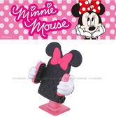 【愛車族購物網】NAPOLEX Disney 米妮 3D迴轉黏貼式手機架│電話架 (黏貼式)