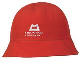 Mountain Equipment 英國 韓版 GT漁夫帽 女款 MEK-001 紅 旅遊 登山 Goretex 防水帽 防水透氣【易遨遊】
