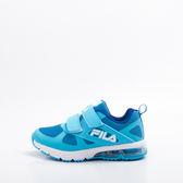 FILA  兒童氣墊慢跑鞋-藍 2-J425S-331