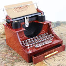 創意音樂盒仿木質八音盒天空之城特惠免運