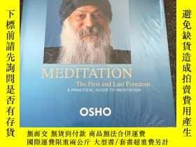 二手書博民逛書店Meditation:The罕見First and Last Freedom【 未開封,實物拍照 】Y4224