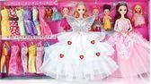 會說話的芭比洋娃娃套裝大禮盒女孩公主兒童玩具仿真娃娃別墅城堡   初見居家