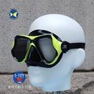 Aropec GY22C 兒童 浮潛 面鏡 黑黃,夾鏈袋裝,適用年齡5-10歲