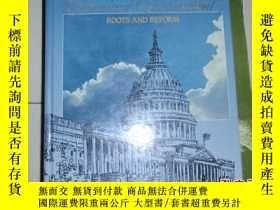 二手書博民逛書店英文原版:罕見AMERICAN GOVERNMENT ROOTS