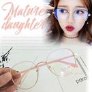 韓國流行 小臉鏡框 平光眼鏡 女眼鏡 百搭 素顏必備☆ 匠子工坊☆【UG0026】