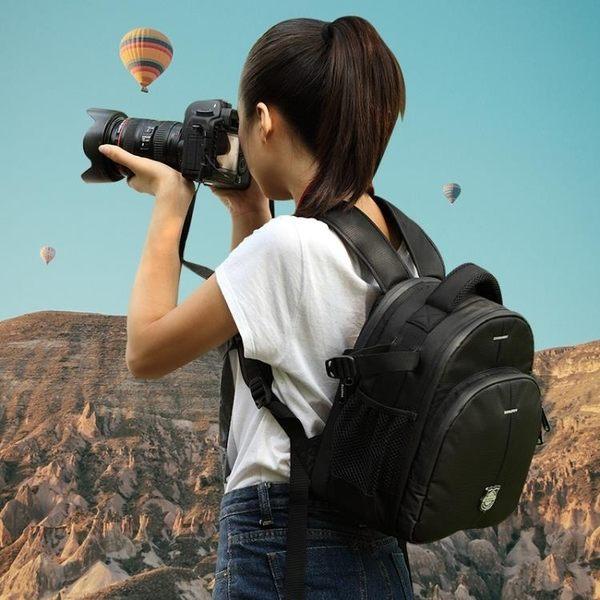 摄影包 致泰相機包後背數碼佳能單反攝影後背包男女背包輕便戶外防盜防水 星河光年DF