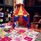 兒童帳篷 兒童游戲帳篷蒙古包公主城堡屋男孩女孩過家家玩具室內小房子TW【快速出貨八折鉅惠】