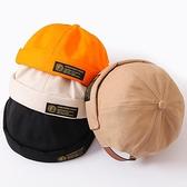 地主帽薄款帽子無檐街頭嘻哈百搭帽子【聚寶屋】