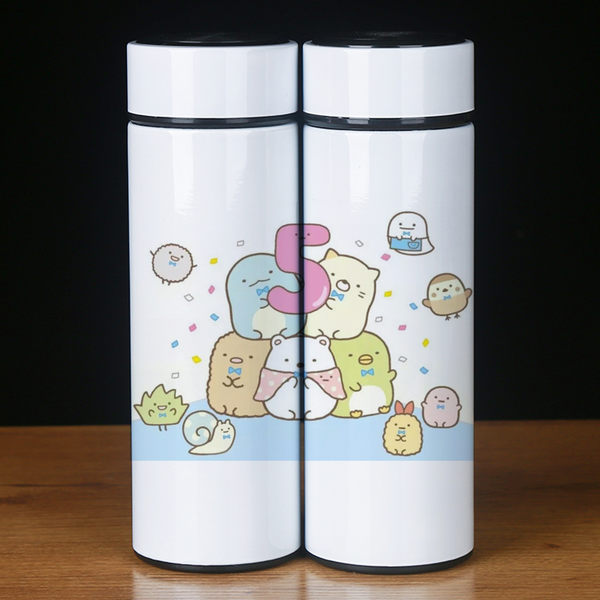 角落生物保溫杯動漫二次元周邊墻角生物白熊貓咪304內膽水杯子 - 歐美韓