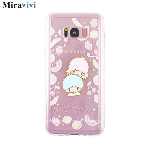 Sanrio三麗鷗Samsung Galaxy S8立體大頭防摔氣墊空壓保護套