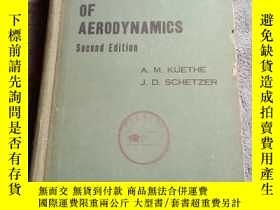 二手書博民逛書店foundations罕見of aerodyynamics 空氣