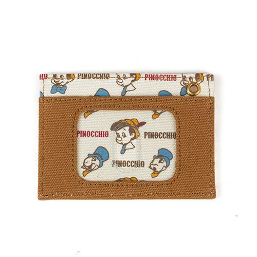 《Marimo》迪士尼帆布車票夾(小木偶)★funbox生活用品★_FT76600