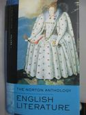【書寶二手書T1/原文小說_YGB】The Norton Anthology English Literature_Greenblatt, Stephen